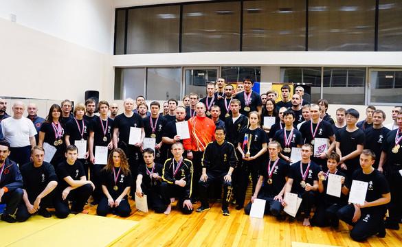 Чемпионат России по Вин Чун 2015 в Санкт-Петербурге