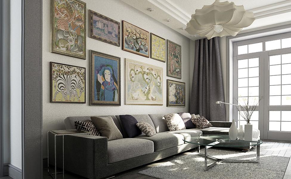 Квартира галериста