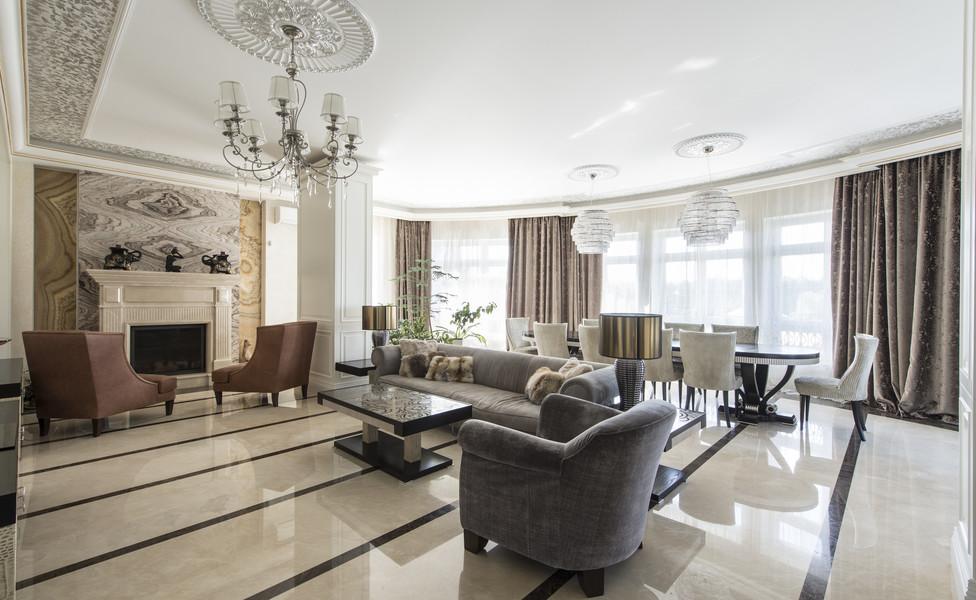 Интерьер дома в Павлово