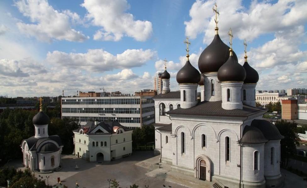 Православный приход преподобного Сергия Радонежского на Рязанке, Дом Причта