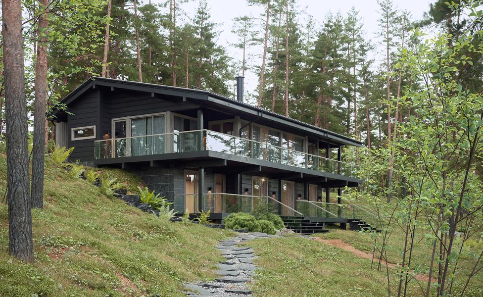 Современный дом в Финляндии