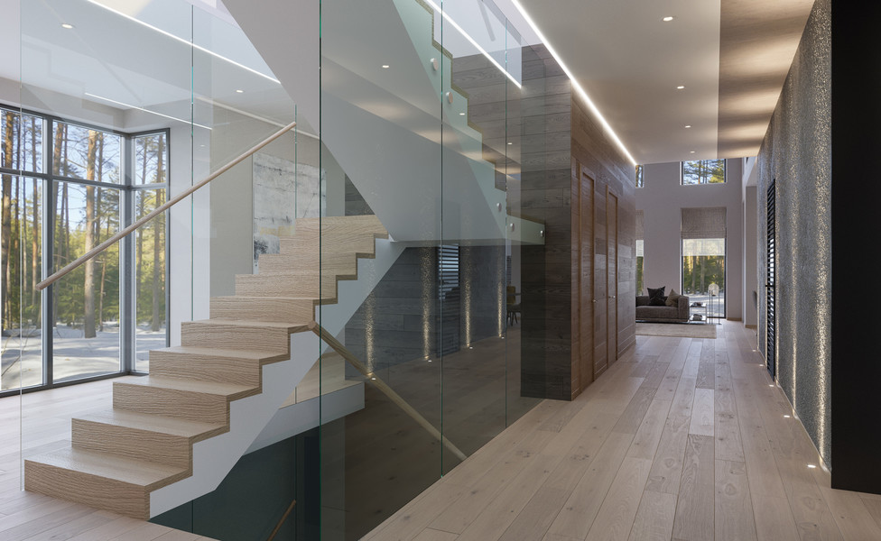 Modern house 600 m2