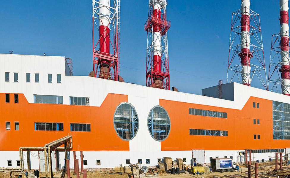 Комплекс зданий газотурбинной электростанции «Внуково»