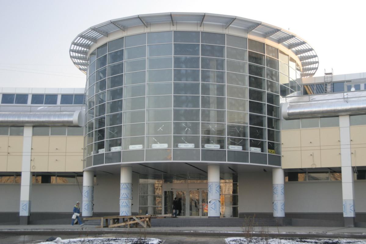 Фасад МТРК на Бибиревской