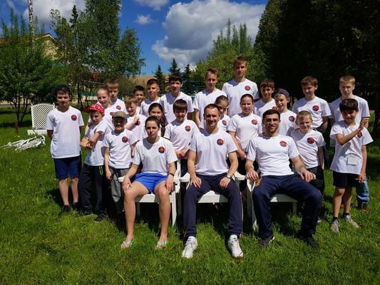 Тренировочный сбор по тхэквондо