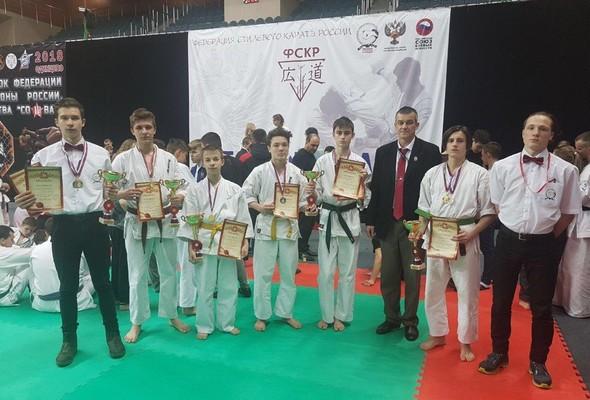 всероссийский турнир по Всестилевому каратэ