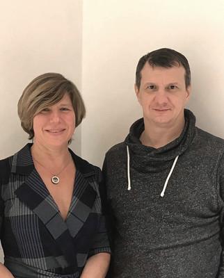 Хиромассаж в бане. Наталья Маслова и Григорий Дугин